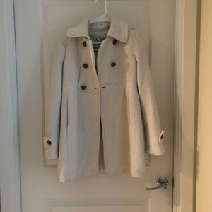 White Women's Pea Coat
